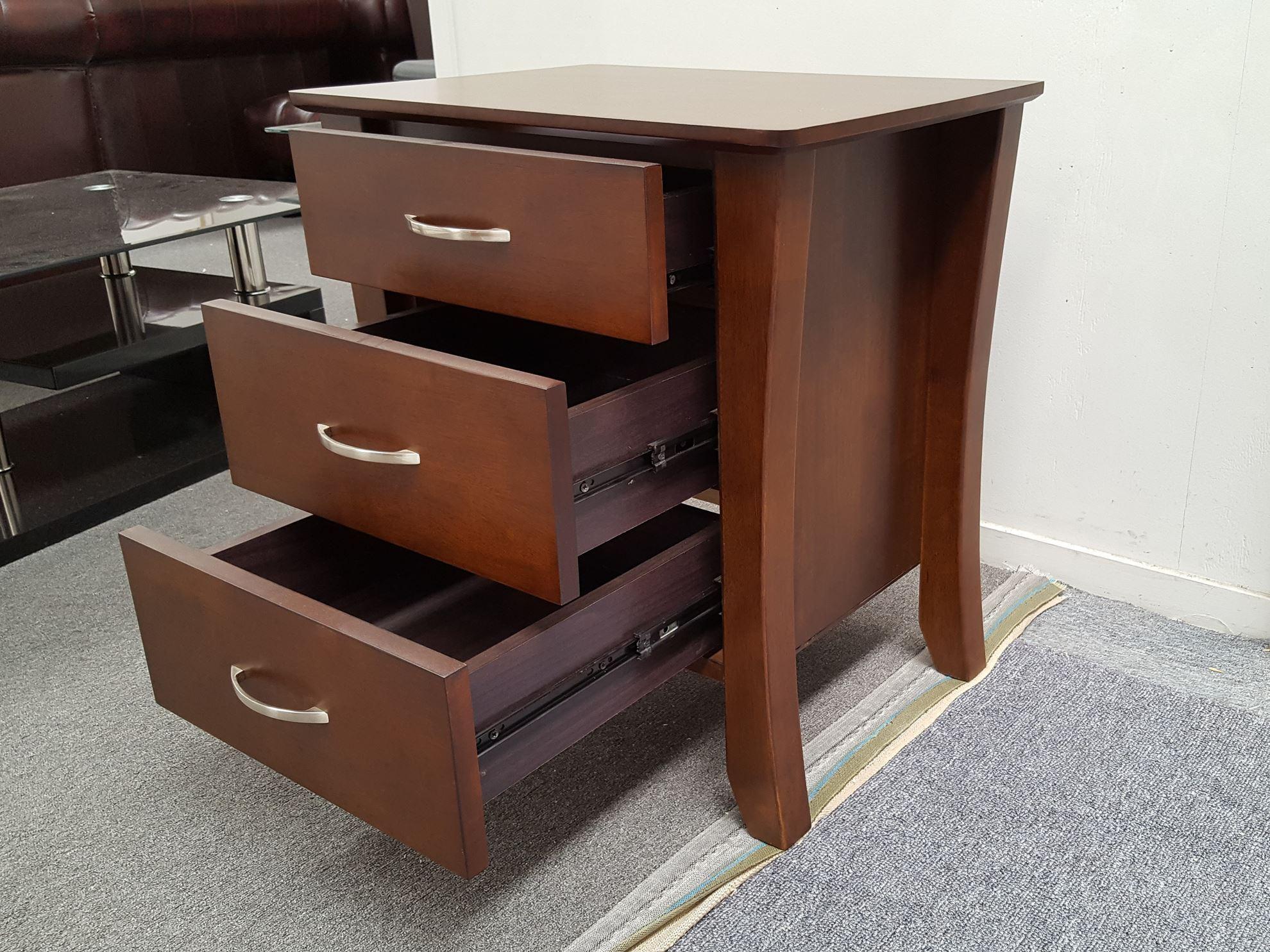 furniture place wenge kia bedside table. Black Bedroom Furniture Sets. Home Design Ideas