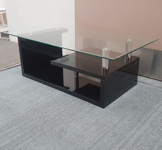 Picture of Vita Coffee Table Clear Tempered Glass (1100mmX650mm)