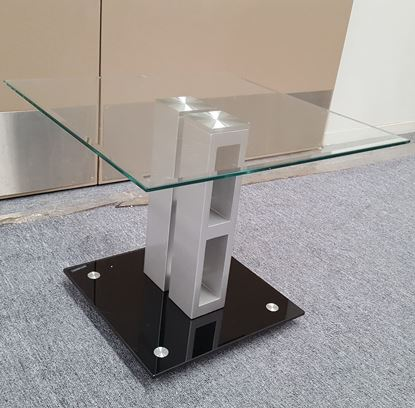 Picture of Galla  Coffee Table Clear Tempered Glass (570mmX570mm)